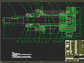 活塞直径为∮90的液压缸装配图 AACD0003 CAD图纸 solidworks 3D图纸 三维模型