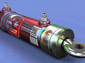液压缸 AACD1001 solidworks  3D图纸 三维模型
