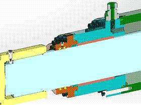 液压缸 AACD2002 solidworks  3D图纸 三维模型