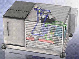 液压站 aace1005 solidworks 3D图纸 三维模型