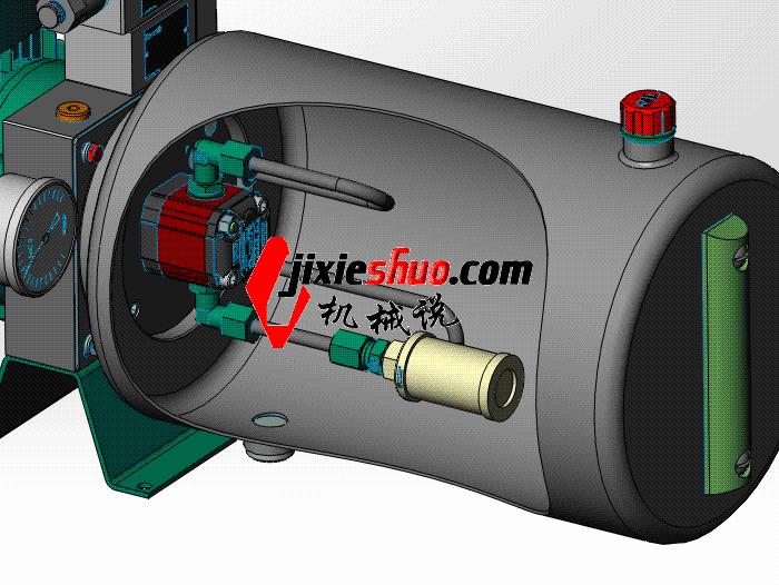电动叉车液压站 aace1008 solidworks 3D图纸 三维模型