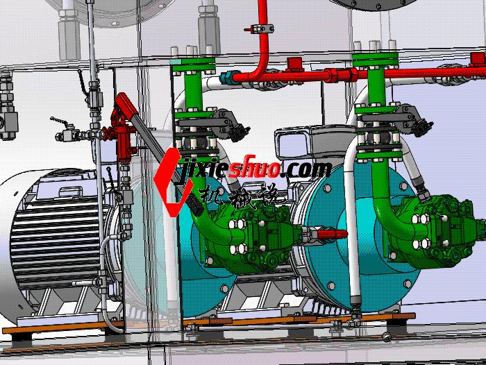 液压站液压泵站 aace1010 solidworks 3D图纸 三维模型