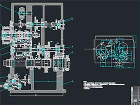全套设计-CA6140车床主轴箱的设计 BYBA001 DWG 毕业设计 论文 计算说明书