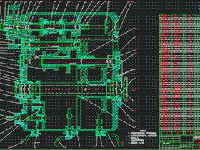 C6140普通车床主轴箱传动设计 BYBA005 DWG 毕业设计 论文 计算说明书