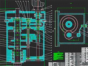数控龙门铣床设计 BYBB001 DWG 毕业设计 论文 计算说明书
