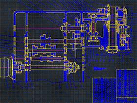 XK5040数控铣床主轴箱、进给机构及控制系统设计 BYBB006 DWG 毕业设计 论文 计算说明书