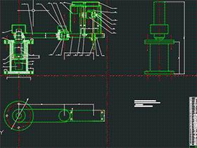 4-DOF SCARA机器人结构设计与运动模拟 BYDB002