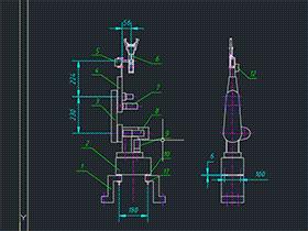 四自由度的工业机器人 BYDB008 solidworks 3D图纸 三维模型