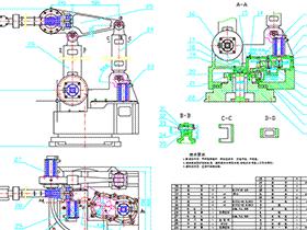 3-DOF工业机器人的结构设计 BYDB011 solidworks 3D图纸 三维模型
