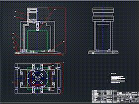 汽车变速箱加工工艺及夹具设计 BYEA0001 dwg图纸 三维模型