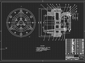 BJ-130汽车变速箱二轴一二档齿轮工艺、刀具及夹具设计 BYEA0002 dwg图纸 三维模型