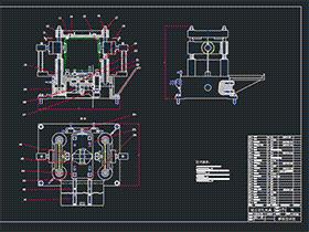 汽车变速箱加工工艺及夹具设计 BYEA0005 dwg CAD图纸 三维模型