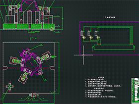 雅马哈摩托车左曲轴箱盖工艺及夹具设计 BYEA0009 dwg CAD图纸 三维模型