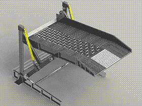 立体车库私家车(带动画)G27 非标自动化设备3D图纸 CVCA2002