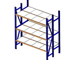 二立柱货架_GTAB2003