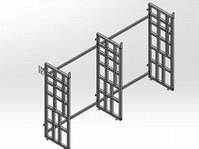 钢制货架 GTAB2006 solidworks格式 3D图纸 三维模型