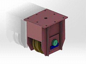 钢模台车被动装置 gtak1001 通用格式 3D图纸 三维模型