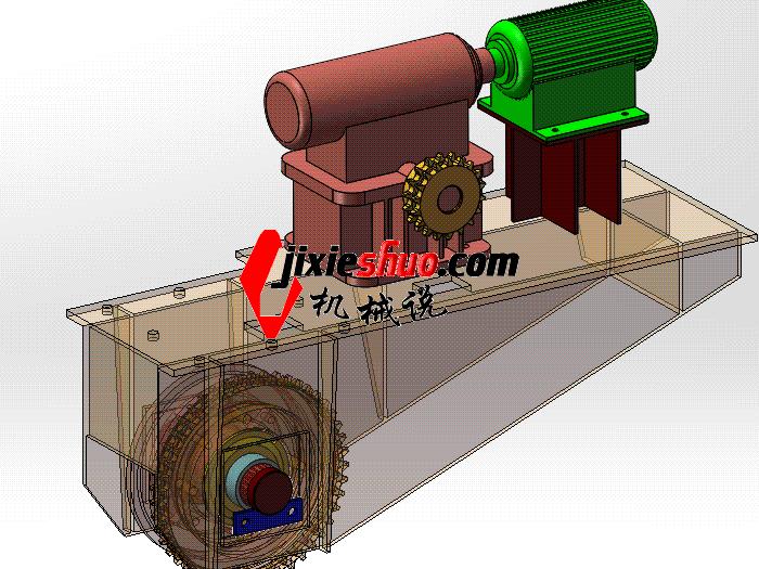 钢模台车驱动装置 gtak1010 通用格式 3D图纸 三维模型