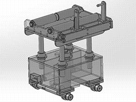送料台车 gtak2006 solidworks 3D图纸 三维模型