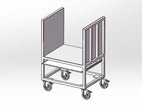 中转台车 gtak2008 solidworks 3D图纸 三维模型