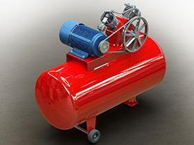 活塞式空气压缩机 3D模型 GTBA1003 solidworks  3D图纸 三维模型