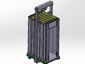 启东中业电梯 gtll2001 solidworks 3D图纸 三维模型