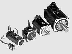 安川伺服电机3D图 安川伺服马达与驱器2D 3D图 CAD模型数据