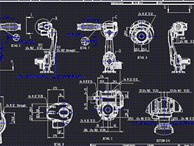 重载6 轴机器人 rbaa0004 solidworks CAD工程图 三维模型