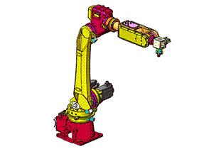 6关节机器人本体 RBAA2002 solidworks 3D图纸 三维模型