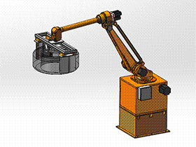 码垛工业机器人 RBAA2003 solidworks 3D图纸 三维模型