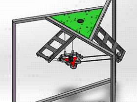 并联机械手 蜘蛛型机器人 F606 RBAD2007 solidworks  3D图纸 三维模型