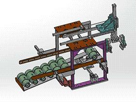 气动机械手搬运送料设备 RBAE2019 Solidworks 格式 3D图纸 三维模型