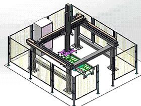 搬运机械手码垛机械手 RBAE2021 Solidworks 格式 3D图纸 三维模型