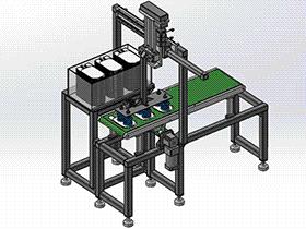 搬运机械手模型 RBAE2022 Solidworks 格式 3D图纸 三维模型
