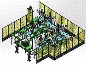 镀锌盒子自动上料焊接码垛 G937 rbaf2002 Solidworks 格式 3D图纸 三维模型