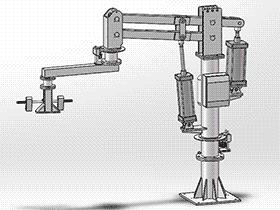立柱式助力机械手 RBAH1004 通用格式 3D图纸 三维模型