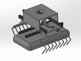 码垛机械手抱具夹具 RBBA1001 solidworks 图纸 三维模型