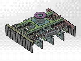码垛机器人夹爪抓取夹具 RBBA2002 solidworks 图纸 三维模型