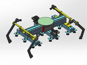 码垛机器人手爪 RBBA2004 solidworks 图纸 三维模型