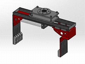 盒子机械手抱具 RBBA2005 solidworks 图纸 三维模型