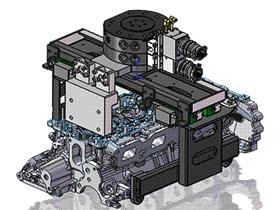 【原创】发动机上盖机械抓手 RBBB1002 solidworks  3D图纸 三维模型