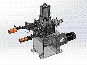 旋转升降夹持机构  RBBB1004 solidworks  3D图纸 三维模型