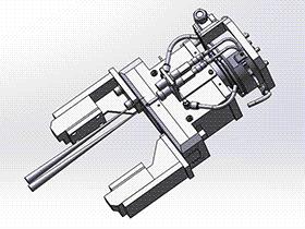 平面夹取机械手 RBBB1011 solidworks 3D图纸 三维模型