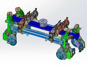 机器人夹爪 RBBB1015 solidworks 3D图纸 三维模型