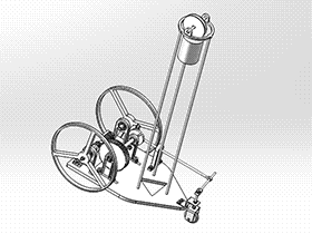 S形无碳小车 RBCD2008 solidworks 3D图纸 三维模型