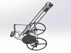 无碳小车 RBCD2010 solidworks 3D图纸 三维模型