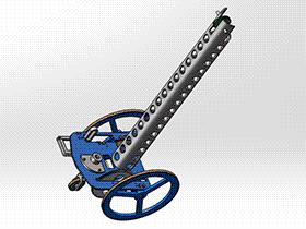 无碳小车(3d模型+CAD图纸) RBCD2011 solidworks 3D图纸 三维模型