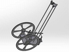 无碳小车 RBCD2013 solidworks 3D图纸 三维模型