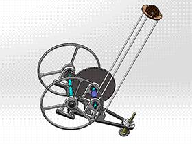 无碳小车 RBCD2014 solidworks 3D图纸 三维模型