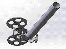 无碳小车 RBCD2018 solidworks 3D图纸 三维模型